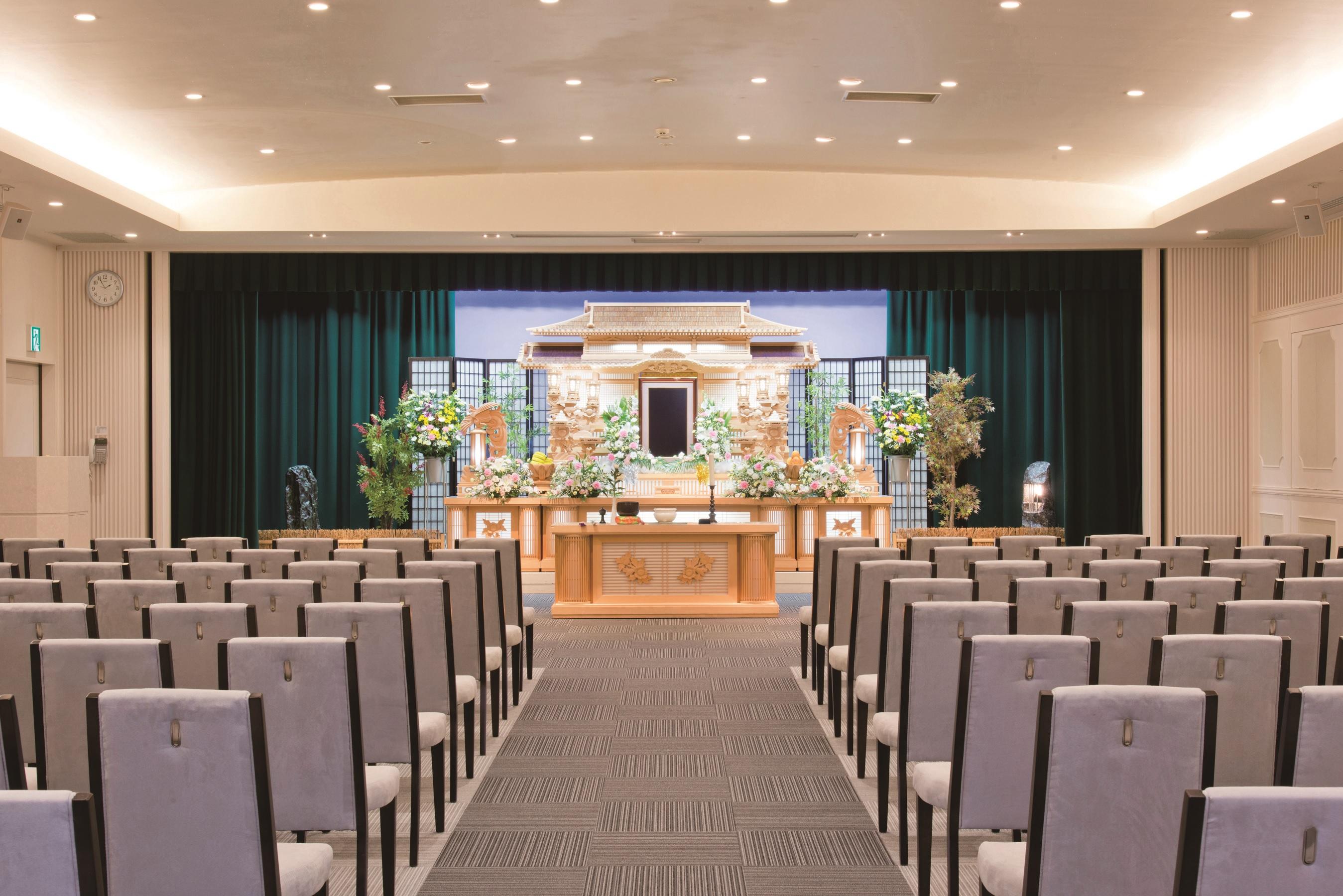 【葵区の葬祭会館が見学できる】個別友引会館見学会
