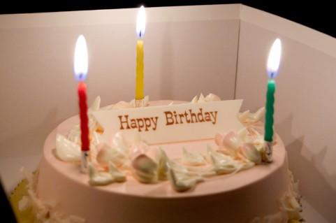 [家族葬]誕生日のお祝いを一緒に